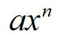 Common Derivaties Polynomial