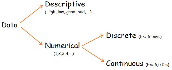 Discrete and Continuous Data
