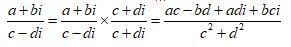 Dividing 2 Complex Number 1