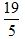 Improper Fraction 3