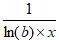 Logarithmic Function b Inverse