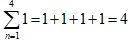 Partial Sums Shortcuts Summing 1 equals b 2