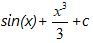 Rules of Integration Sum Rule Example 1