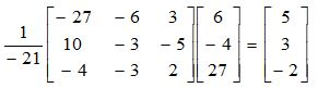 Solving Systems of Linear Equations Using Matrices 3