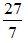 Convert Mixed to Improper Fraction 3b