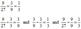 Equivalent Fractions Divide