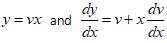 Homogeneous Differential Equations Formula 4