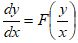 Homogeneous Differential Equations Formula 6