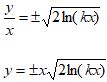 Homogeneous Differential Equations Solutions