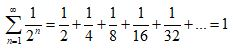 Infinite Series Notation