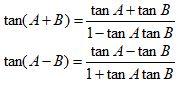 Trigonometric Identities Sum Tan
