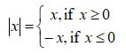 Absolute Value Definition