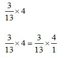Multiplying Fraction Example