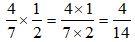 Multiplying Fraction Second Step