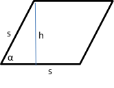Area of Rhombus 3